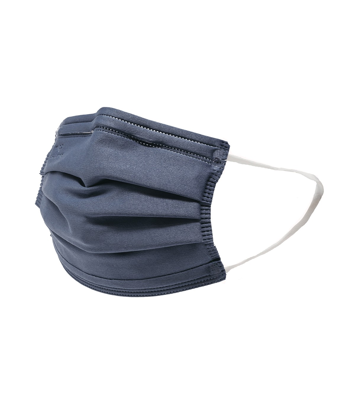 Mascarilla quirúrgica textil reutilizable - azul marino